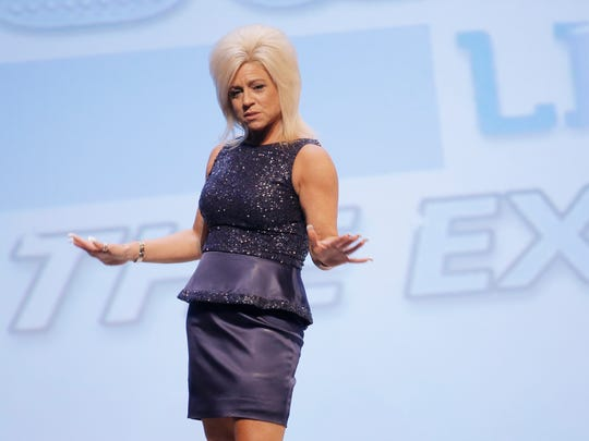 Medium Theresa Caputo brought her TLC show Long Island