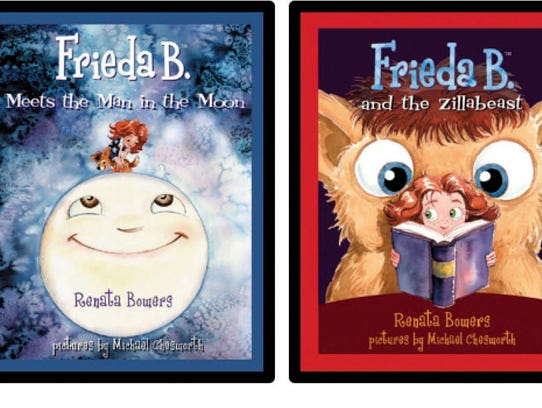 "The ""Frieda B."" series has sold more than 10,000 copies"