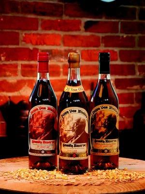 Bottles of 15-, 20- and 25-year-old Pappy Van Winkle bourbons await your discriminating palate at the Music City Food and Wine Festival.
