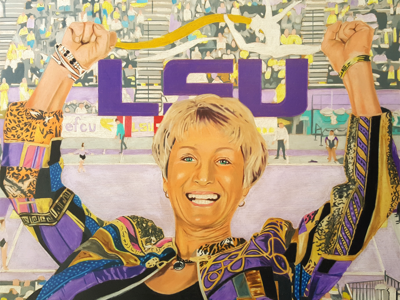 LSU gymnastics coach D-D Breaux is headed for the Louisiana Sports Hall of Fame.