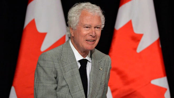Ken Taylor, former Canadian ambassador to Iran, speaks to the Empire Club of Canada in Toronto on Jan.24, 2013.