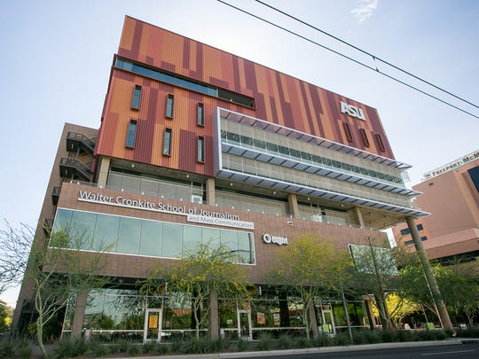 The Walter Cronkite School of Journalism and Mass Communication at the ASU Downtown Phoenix Campus.