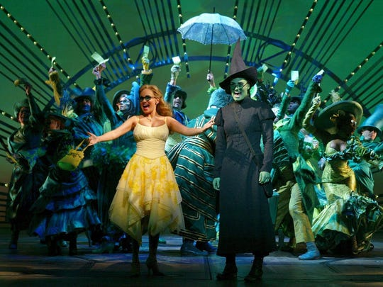 """""""For Good"""" Day at """"Wicked"""" will take place on Feb. 4, 2017, for Girl Scouts."""