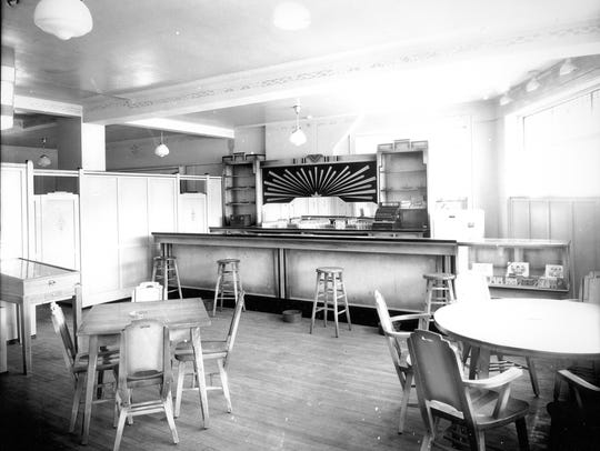 An interior view of the Northern Star Tavern, newly