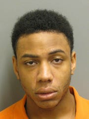 Aaron Pouchie is charged with robbery.
