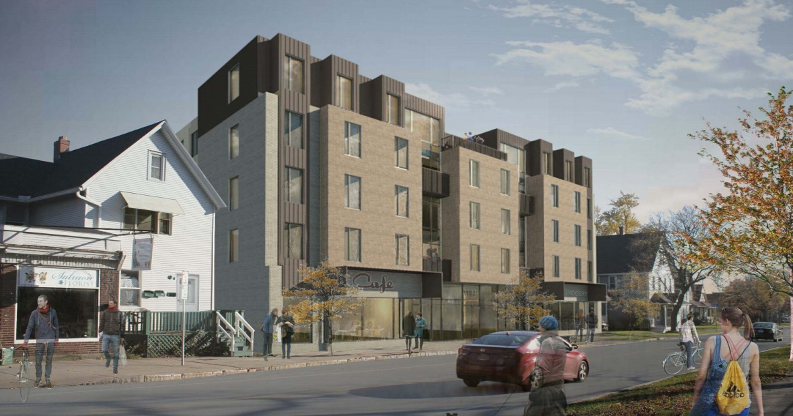 Odd Fix Mt Hope Developer Can Get Around Parking Needs By Making Apartments Ger