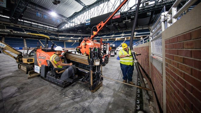 The Wi-Fi upgrades will enhance the fan experience during Lions games at Ford Field.