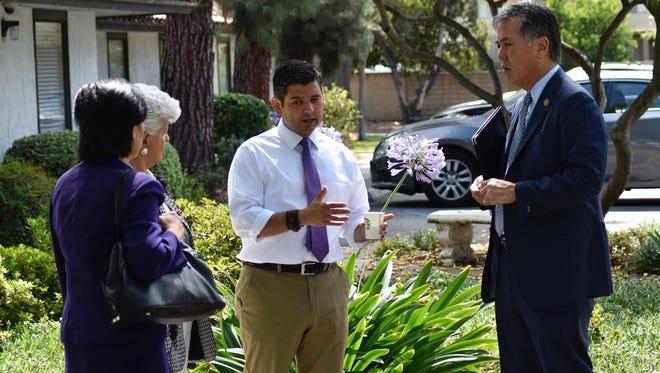 Members of Congress Judy Chu, Grace Napolitano, Dr. Raul Ruiz and Mark Takano visited the facility.