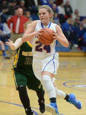 Union County's Maddie Fulton was the TEC's Player of the Year last season. She is part of a strong returning core for the Patriots.