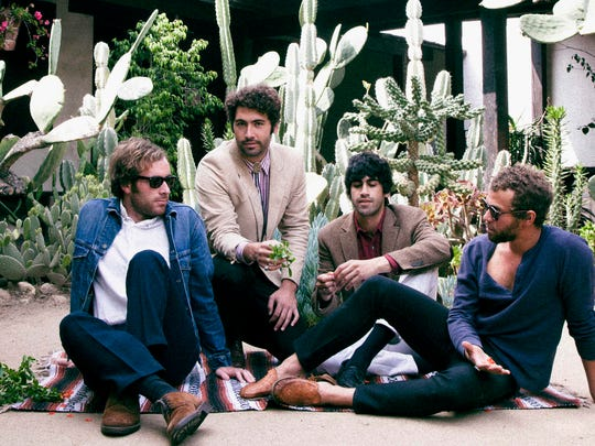 "California's Allah-Las play at Pappy & Harriet's for the ""Benefit for Joshua Tree National Park"""