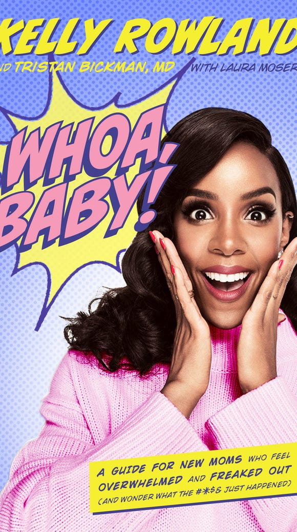 Kelly Rowland on the cover of 'Whoa, Baby!'