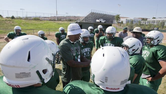 Hug head coach Carl LaGrone will make his debut on Friday night against Fernley.