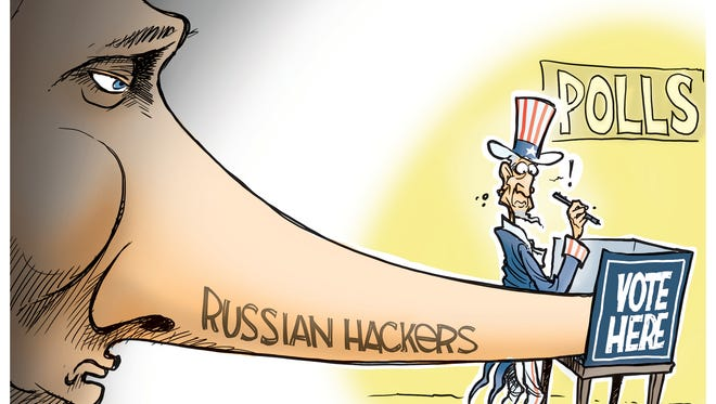 Russia hacks US election