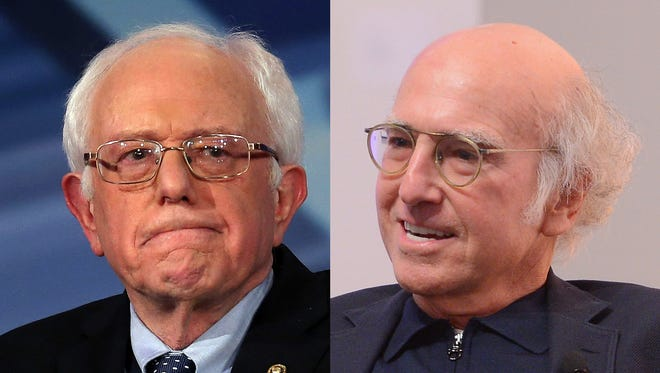 "Sen. Bernie Sanders, left, will reportedly make an appearance on the Feb. 6 episode of ""Saturday Night Live,"" hosted by Larry David."
