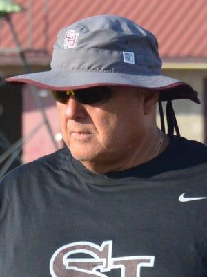 Former Spring Hill High School football coach Tom Turchetta