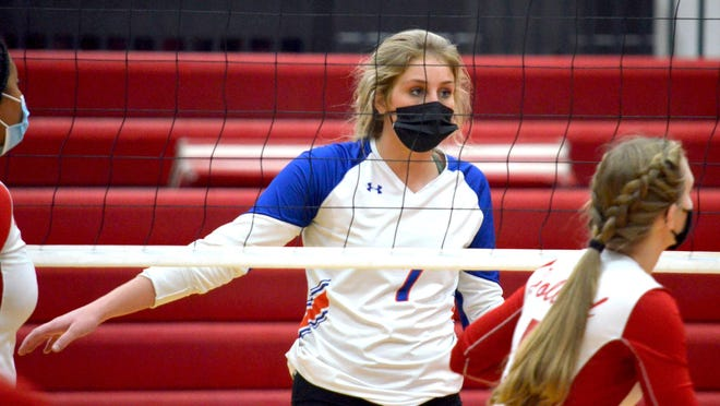 Saugatuck's Zoe Myers is a versatile force for the volleyball team.