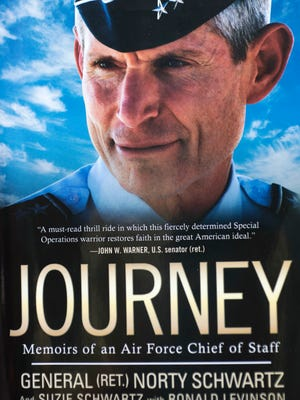 """Retired Air Force Gen. Norton Schwartz chronicles his story in his autobiography """"Journey: Memoirs of an Air Force Chief of Staff."""""""