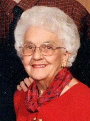 Juanita Ahrens, 87