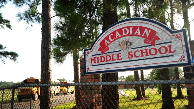 Rollan Moore is the new principal of Acadian Middle School.