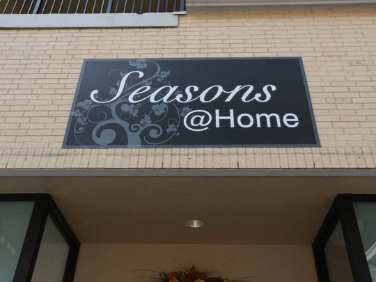 Seasons @ Home in the Branson Landing offers unique Christmas and seasonal decorations.