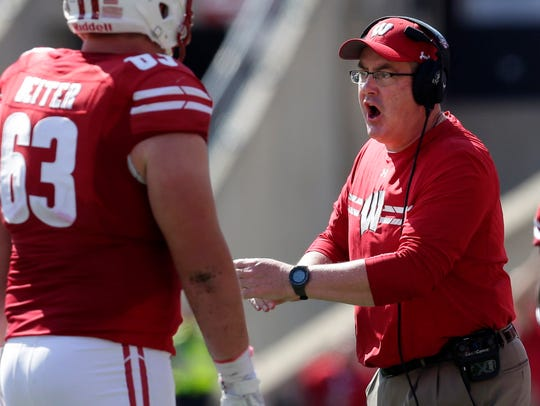 Coach Paul Chryst took responsibility for some of the