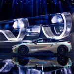 Detroit auto show photos: BMW i8 Coupe and Roadster