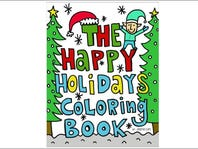 DAY 12: Happy Holidays Coloring Book