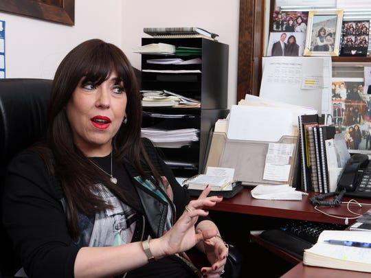 """Rivkie Feiner is a Monsey native was raised Orthodox Jewish. She is calling on Rockland officials to step up security to protect the """"terrified"""" Jewish community."""
