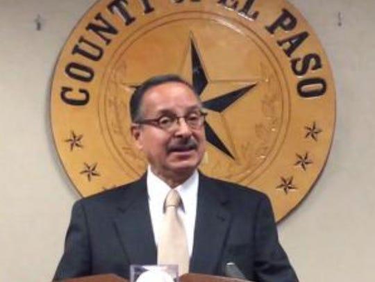 El Paso County Commissioner Carlos Leon said he is