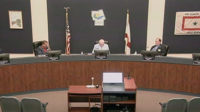 Flagler County Commission unanimously adopted their tentative tax rate Wednesday night.