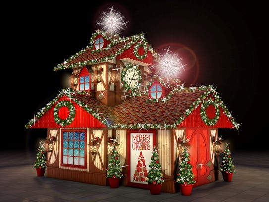 Santa's Cottage at Ridge Hill's newest holiday attraction
