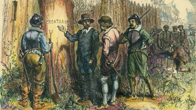 """The Lost Colony disappeared in 1590 leaving nothing more than the myself sterious word """"Croatoan"""" carved on a palisade wall… or maybe it wasn't mysterious at all."""