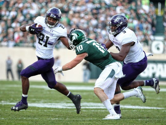 NCAA Football: Northwestern at Michigan State