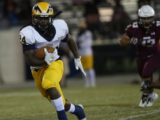 Lehigh running back Chris Curry has taken his talents to LSU, leaving a large void to fill in the Lightning backfield.
