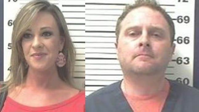 Christopher Lynn Kyzar and Layla McCall Carpenter both 36 of Brandon have been arrested for allegedly selling counterfeit SEC football tickets.