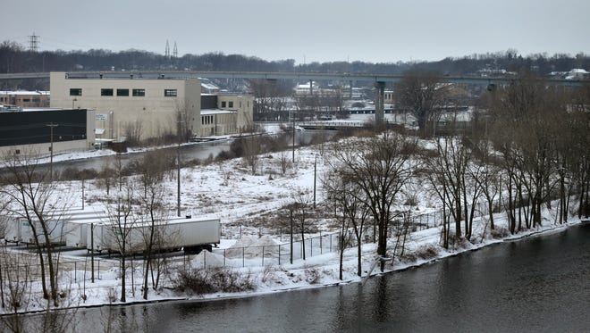 Neenah Paper Inc's  Appleton Mill, located in Appleton's industrial flats.