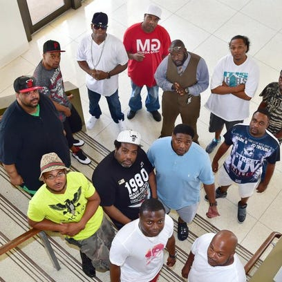 Influential first and second generation Jackson hip-hop