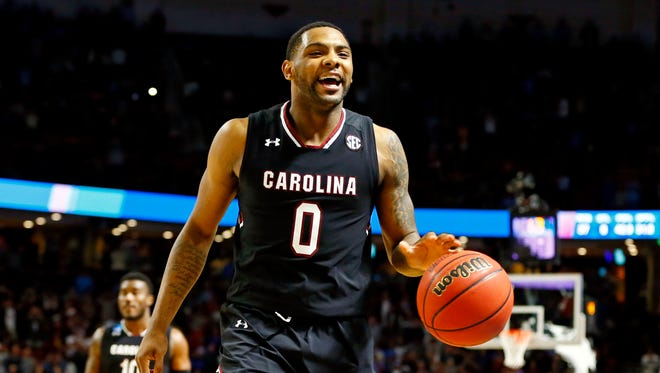 South Carolina guard Sindarius Thornwell has led the Gamecocks to the Final Four.