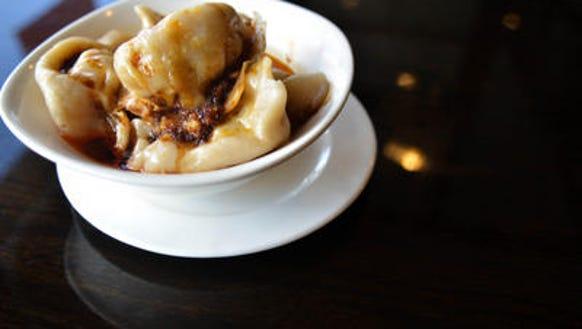 sichuan chili dumplings
