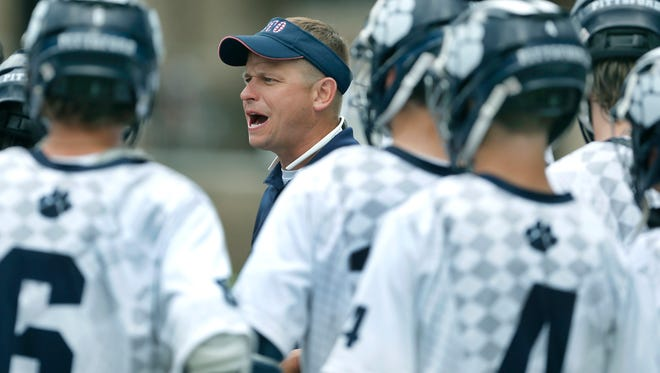 Andrew Whipple is in his 10th season as the Pittsford Panthers coach.