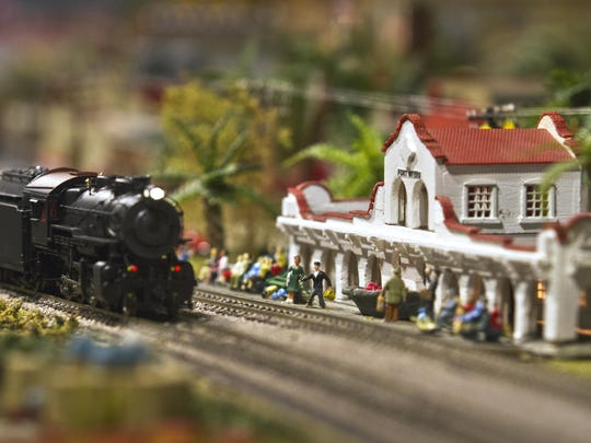 Tour the 40x40 model train display that features several running trains and hundreds of recognizable geographic landmarks in Florida at Shell Point Retirement Community on Monday, Wednesday and Friday through April.