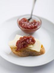 Tomato Jam tastes like the summer harvest.