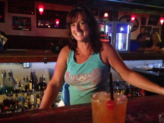 Sylvia Wiley of Dixie Roadhouse in Cape Coral.