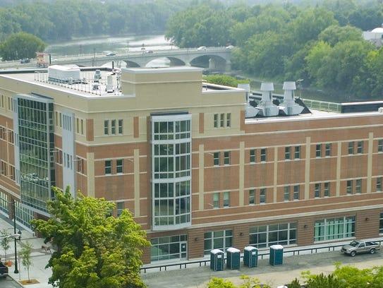 Binghamton University's $29 million Downtown Center