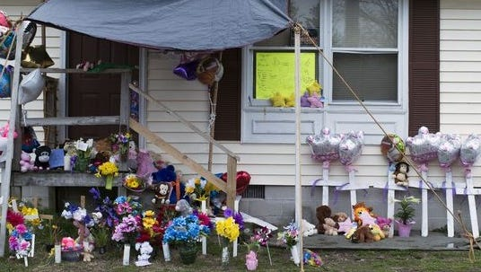 The front of the home in Princess Anne where Rodney Todd and his seven children were found dead April 6 from accidental carbon monoxide poisoning.