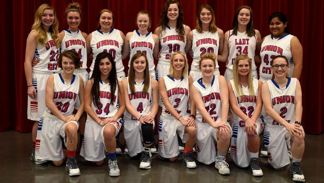 The Union City girls basketball team will play Wood Memorial on Saturday.