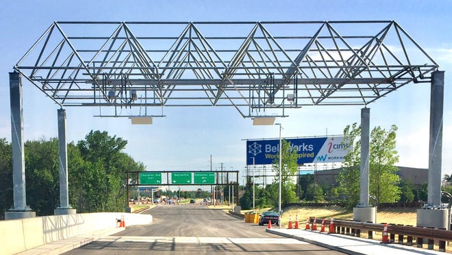 The new southbound exit ramp connecting the Garden State Parkway to Chevalier Avenue and Main Street Extension in Sayreville opens Sunday.