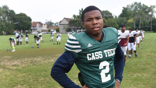 Cass Tech cornerback Kalon Gervin decommitted from Notre Dame before agreeing to attend Michigan State.