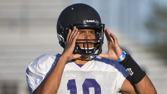 North Canyon High WR Solomon Enis has ASU as one of his potential college destinations.