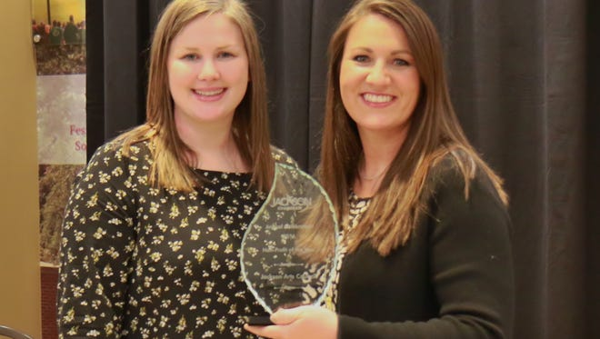 The Jackson Chamber of Commerce held its annual awards banquet Thursday at the Carl Grant Events Center at Union University.